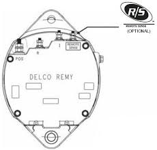 alternators 240 36400 delco 36si 24v 60a eref j180 robert s son product diagram
