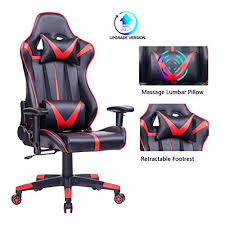 Blue <b>Whale</b> Gaming <b>Chair PC Computer Chair</b> Ergonomic Video ...
