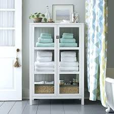 towel storage. Bathroom Towel Storage Shelves Kraal White Cabinet Crate And Barrel Bath S