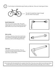 Disc Brake Adapter Chart Hitch Guide Burley Design