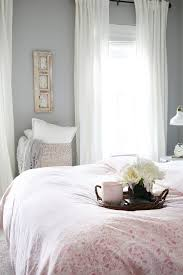 sweet and simple guest bedroom decor