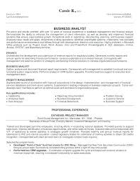It Business Analyst Resume Custom Junior Business Analyst Cv Sample Uk Brilliant Ideas Of Management
