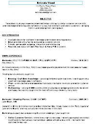 Bartender Resume Objective By Behinda Wood Create A Great Bartender