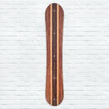 wooden growth chart snowboard wooden growth chart wooden ruler growth chart canada