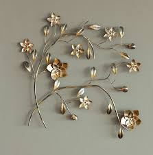 >gold and silver metal wall art andrews living arts very good  gold and silver metal wall art