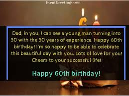 happy 60th birthday wishes and es