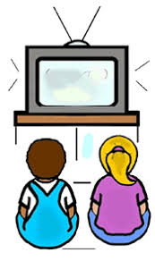 boy watching tv clipart. boys and girls watching television on chairs royalty free cliparts · daily routine work boy tv clipart