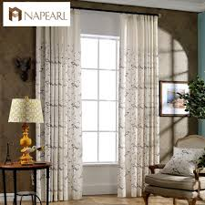Modern Curtain Panels For Living Room Online Get Cheap Modern Country Curtains Aliexpresscom Alibaba