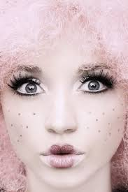 doll 01 by davidbenoliel on deviantart maybe purple or blue hair instead cute doll makeup