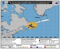 Dorians Winds Drop Below Hurricane Force South Florida