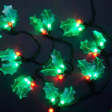 Christmas Berry Lights Uk Sale On 4m 13ft 40 Colour Changing Crystal Pine Cone Outdoor