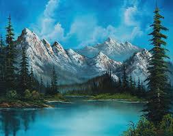 landscape painting natures grandeur by chris steele