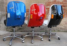 Artists turn vintage Vespas into super cool office chairs