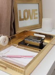 feminine office accessories. gold office accessories feminine e