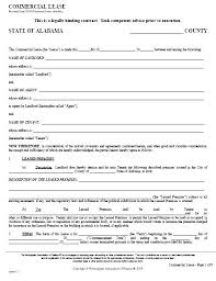basic lease agreement template simple commercial lease agreement template simple com lease