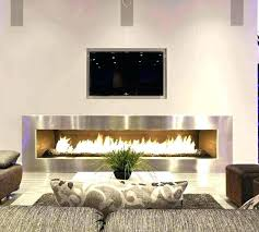 wall mount electric fireplace insert 55 built in led