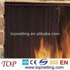 chain link mesh spark screen fireplace curtain mesh fireplace curtain mesh fireplace screen wire mesh spark curtain on alibaba com