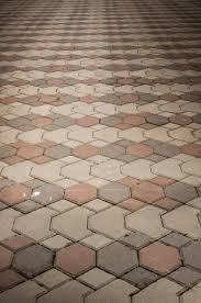interlocking paver brick patio design using 3 color schemes pavers patterns a69 pavers