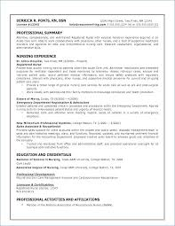 Lpn Resume Examples New Resume For Med Surg Nurse Entry Level Lpn Resume Sample Nursing