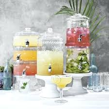 acrylic drink dispenser singapore triple beverage its glass