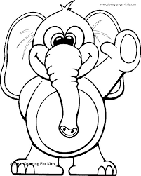 Animal Coloring Pages For Kids Cool Photography Animal Coloring For