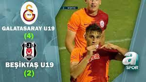 Galatasaray U19 4 - 2 Beşiktaş U19 MAÇ ÖZETİ (Süper Lig U19 Gelişim Ligi  Çeyrek Final Maçı) - YouTube