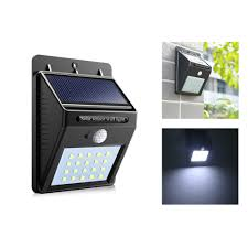 Us 1025 25 Offzonne Verlichting Draadloze Waterdichte Motion Sensor Outdoor 20 Led Solar Lamp Voor Patio Yard Tuin Met Cds Night Sensor Auto