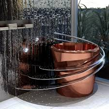 japanese soaking tub with seat. bathroom:ultra modern bathroom with round brown japanese soaking tub silver iron seat
