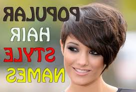 Hairstyle Names For Women names of short hairstyles popular hairstyle names best hairstyle 6289 by stevesalt.us