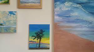 Sunset Beach Oregon Tide Chart Ohana Surf Oahu Hawaii Tropical Palm Tree Surfer Sunset