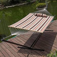 two person hammock with stand. LazyDaze-Hammocks-15-Feet-Heavy-Duty-Steel-Hammock- Two Person Hammock With Stand H