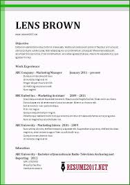 Best Resume Templates 2017 Word Very Best Chronological