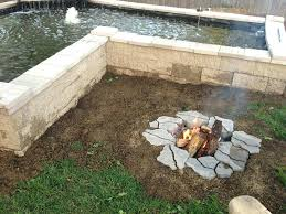 how to build an inground fire pit fire pit and how to make the best out