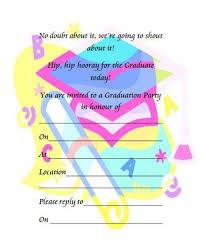 graduation announcements free downloads 40 free graduation invitation templates template lab