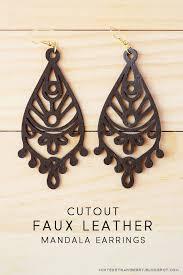 coloring book earrings ornate