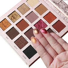 eyeshadow palette makeup matte shimmer 16 colors high pigmented cosmetic eye shadows cosmetics usa instamakeup