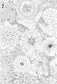 Printable Coloring Pages Of Flowers And Butterflies Coloring Sheets Flowers Nagarkovil Com
