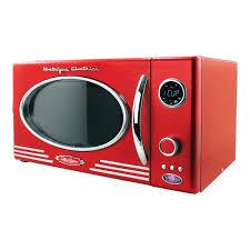 nostalgia electrics retro microwave retro series cf microwave oven nostalgia electrics retro series 07 cubic foot