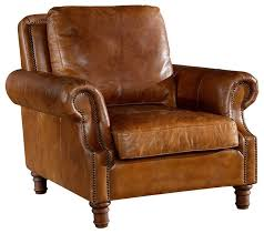 leather english rolled arm arm chair light brown leather