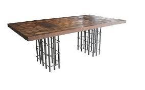 Nice Unique Table Rebar Base | Recycling Decoration (espiritu Chamarilero)  | Pinterest | Unique