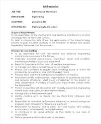 It Field Service Technician Job Description Sample Resume For Field ...