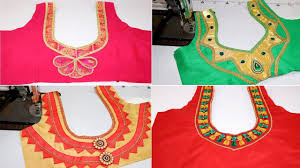 Beautiful Blouse Neck Designs Images Most Beautiful Blouse Back Neck Designs 20 Blouse Designs