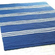 striped indoor outdoor rugs navy blue rug