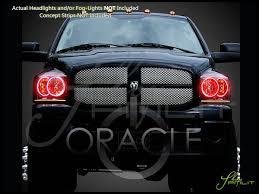 Halo Lights For 2006 Dodge Ram Oracle 06 08 Dodge Ram Led Halo Rings Head Fog Lights Bulbs
