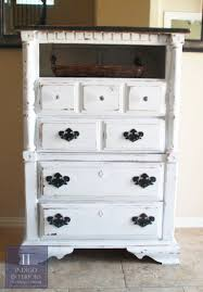 tall dresser chest. Distressed Black And White Tall Dresser / Chest Of Drawers By Indigo Interiors On Etsy Www.IndigoInteriors.etsy.com Austin TX Shabby Chic Rustic ,