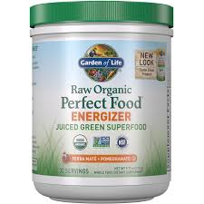 <b>Raw Organic Perfect</b> Food Energizer - Yerba Mate Pomegranate ...