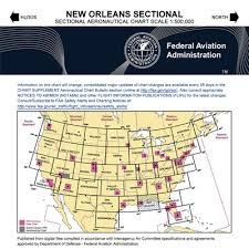 New Orleans Sectional Chart Vfr New Orleans Sectional Chart
