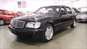 Mercedes maybach s600 ridiculously expensive but a staggering. 1999 Mercedes Benz S600 Black Youtube