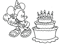 Medium Size Of Mickey Mouse Clubhouse Birthday Coloring Pages Free