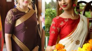 Boat Neck Blouse Designs For Saree New Boat Neck Blouse Designs Ideas Boat Neck With 3 4 Sleeves Blouse Designs Ideas
